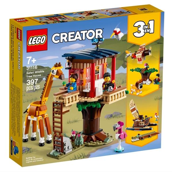 LEGO樂高 Creator 創意大師系列 野生動物園樹屋_LG31116