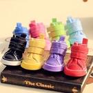 寵物鞋 新款狗狗鞋子寵物鞋子比熊貴賓博美泰迪鞋子防滑彩虹鞋【快速出貨八折搶購】