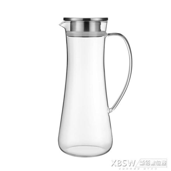 心選高硼硅玻璃涼水壺冷水壺套裝耐高溫泡茶壺套裝CY『新佰數位屋』