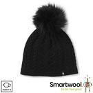 【SmartWool 美國 Bunny Slope 麻花保暖毛帽《黑色》】 SW000436/針織帽/毛線帽/羊毛帽