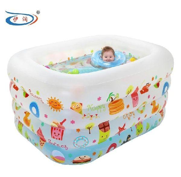 (交換禮物 創意)聖誕-嬰兒游泳池 充氣保溫嬰幼兒童寶寶游泳池戲水池大號游泳桶BLNZ