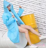 拉鏈連帽雨衣外套女成人專用徒步男騎行加大電動電瓶車透明雨衣雨披 DR18292【Rose中大尺碼】
