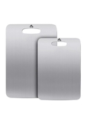 304不銹鋼菜板家用水果砧板占板不黏面板刀板廚房案板切菜板   LannaS