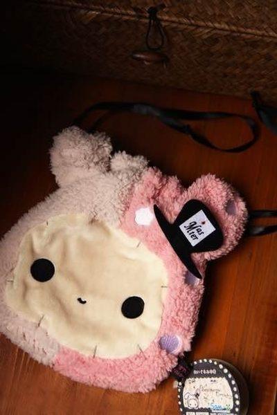 【發現。好貨】SAN-X 憂傷馬戲團 憂憂兔 兔子團長束口袋收納袋拉繩包相機包
