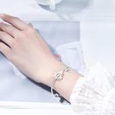 【助事業學業有成】以夢為馬白水晶六芒星純銀手鏈|錦鯉大王女飾