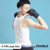 《Double束胸》COOLMESH 全網式束胸 黏貼全身2L~3L大尺碼專區【D78】