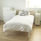 床 床架 單人床架 木床架【L0040】矢上簡約木系單人床架(兩色) 完美主義