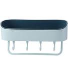 收納架SG659 衛生間置物架壁掛浴室免打孔牆上廁所洗手間洗漱台毛巾掛架