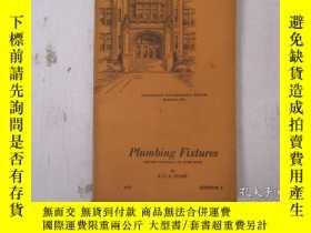二手書博民逛書店民國:Plumbing罕見Fixtures【USA】 關於房屋建築結構等Y21905
