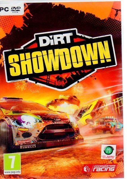 【玩樂小熊】PC正版軟體 大地長征:好戲上場 DiRT Showdown (英文版)