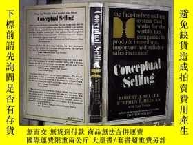 二手書博民逛書店CONCEPTUAL罕見SELLING 概念銷售Y180897