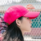 鴨舌帽 棒球帽韓版顯臉小2021年新款ins潮帽子女夏季遮陽防曬時尚鴨舌帽 寶貝 免運