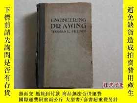二手書博民逛書店ENGINEERING罕見DRAWING(工程製圖手冊)Y254