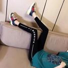 窄管褲 莫代爾棉打底褲女外穿薄款高腰彈力瑜伽褲緊身芭比褲子 魔法鞋櫃