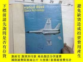 二手書博民逛書店Aviation罕見week space technology