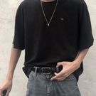 男皮帶 酷皮帶男潮流年輕人學生韓版百搭簡約褲腰帶女韓國個性黑【快速出貨八折下殺】