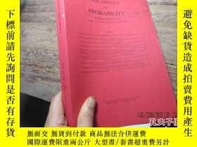 二手書博民逛書店the罕見annals of probability vol 4