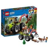 積木城市組60181林業工程車City積木玩具xw