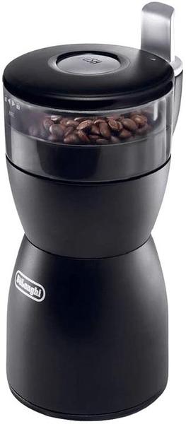 【日本代購】DeLonghi 切片式咖啡研磨機 粗研磨 中細研磨 黑色 KG40J