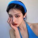 髮夾 發箍女夏高級網紅新款顱頂海綿頭箍洗臉發捆壓發頭飾發夾復古發卡