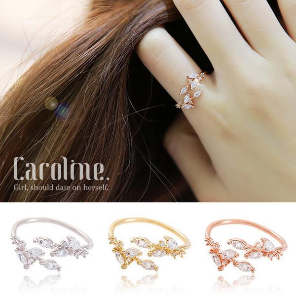 《Caroline》★【一片心靈】韓星申敏兒同款甜美魅力、迷人風采無限動人時尚戒指68893
