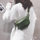 磨砂小包包女包新款2021韓版百搭腰包個性胸包超火單肩斜背包