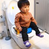 坐便器 大號兒童坐便凳男女寶寶嬰兒馬桶車載座便器小孩便盆折疊便攜尿盆YXS  one shoes