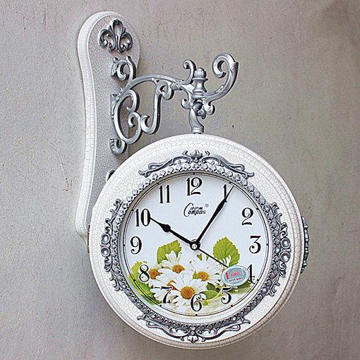 康巴絲時鐘(14寸白裂紋)
