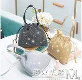 日韓流行水鉆手提包鑲鉆晚宴手包宴會包女手拿包手袋包零錢化妝包 遇見生活