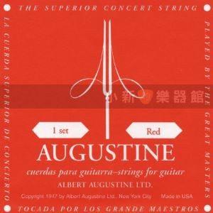 【古典吉他弦】【 AUGUSTINE(紅)】  【 中張力古典弦 尼龍弦】
