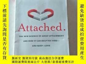二手書博民逛書店Attached:The罕見New Science of Adult Attachment and How It