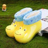 萬聖節大促銷 可愛卡通兒童雨鞋男童寶寶膠鞋雨靴女童時尚防滑保暖水鞋