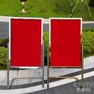 水牌展示架立牌指示牌不銹鋼廣告牌海報架酒店L型腳迎賓牌導向牌 快速出貨