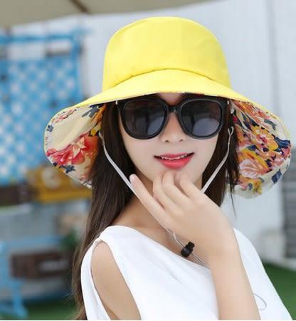[協貿國際]  女士夏天折疊太陽帽遮陽帽 (1入)