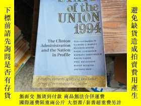 二手書博民逛書店state罕見of the union 1994 : The C