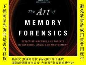 二手書博民逛書店The罕見Art Of Memory ForensicsY464532 Michael Hale Ligh;