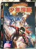 挖寶二手片-O17-138-正版DVD*動畫【少年悍將-猶大之約】-繼續DC宇宙未完的旅程
