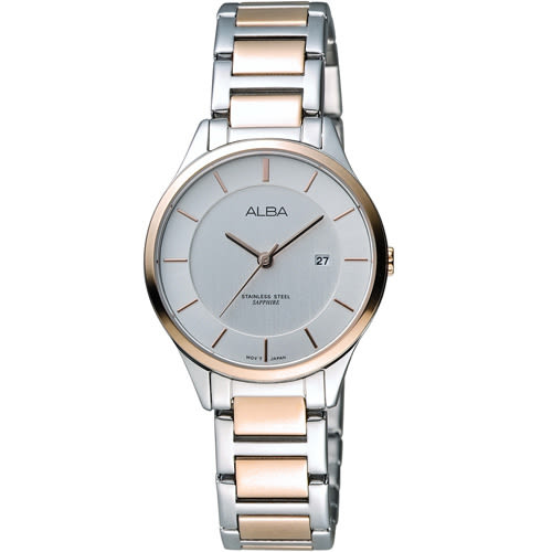 ALBA 雅柏 時尚甜美個性腕錶 VJ22-X237KS AH7L34X1