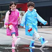 雨衣 卡通兒童雨衣/充氣帽檐/背包位【EL10245】 ENTER  10/06