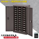 【收納嚴選】樹德 A6V-330HD 大容量抽專業零件櫃-加門型 30格抽屜 分類整理櫃