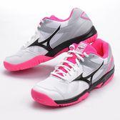 樂買網 MIZUNO 18SS 女款 排羽球鞋 CYCLONE-SPEED V1GC178063 白x粉