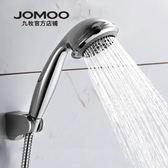 花灑噴頭手持蓮蓬頭淋雨頭增壓淋浴花灑套裝簡易淋浴花灑噴頭   小時光生活館