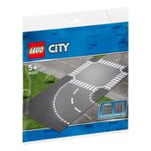 LEGO樂高 城市系列 60237 彎道和十字路口 積木 玩具