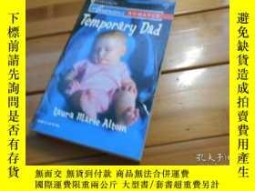 二手書博民逛書店Temporary罕見Dad, Laura Marie Alto