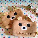 【發現。好貨】【現貨現貨】日本拉拉熊 懶懶熊多功能收納袋 三層式筆袋 化妝包