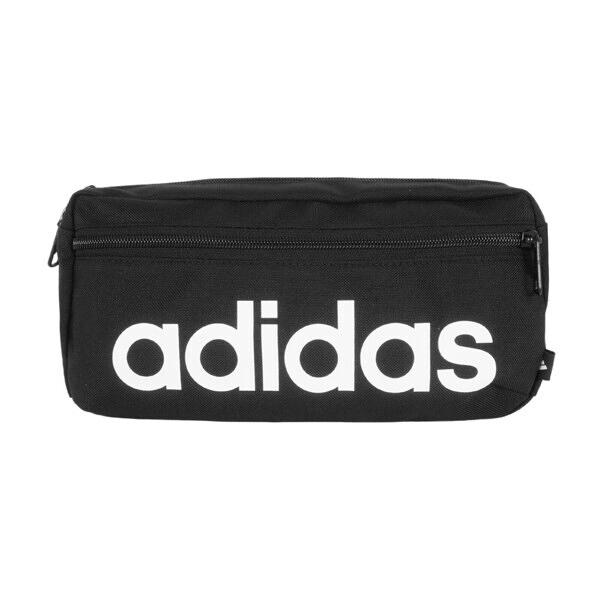 Adidas Linear Bum Bag [GN1937] 腰包 運動 休閒 斜背包 可調式 多層 收納 黑
