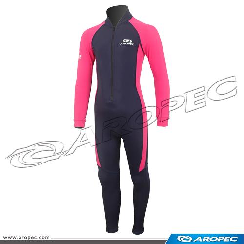兒童款Lycra長袖長褲連身水母衣(多色可選) DS-5104C-Lycra【AROPEC】