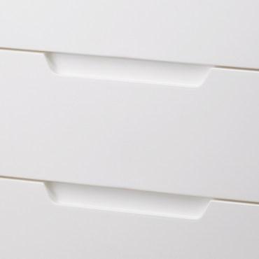日本 IRIS 深色天板五層收納櫃 寬73公分