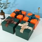 禮物盒 正方形禮品盒 超大禮物包裝盒ins風生日送禮盒空盒子圣誕節禮物盒【快速出貨八折下殺】