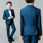 男童西裝套裝春夏韓版走秀舞臺表演主持演出服花童禮服兒童西裝男